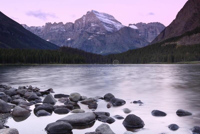 冰川国家公园 库存照片