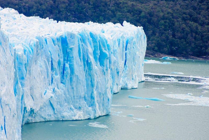 冰川莫尔诺perito 免版税库存照片