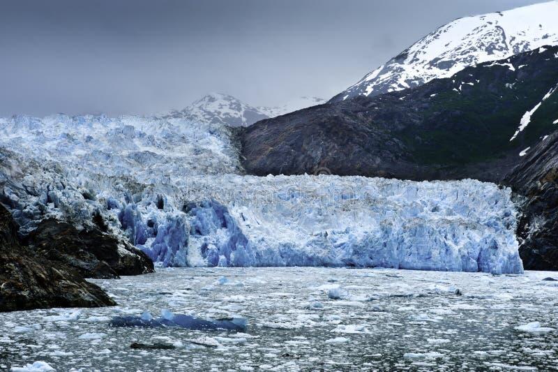 冰川锯工 免版税库存图片