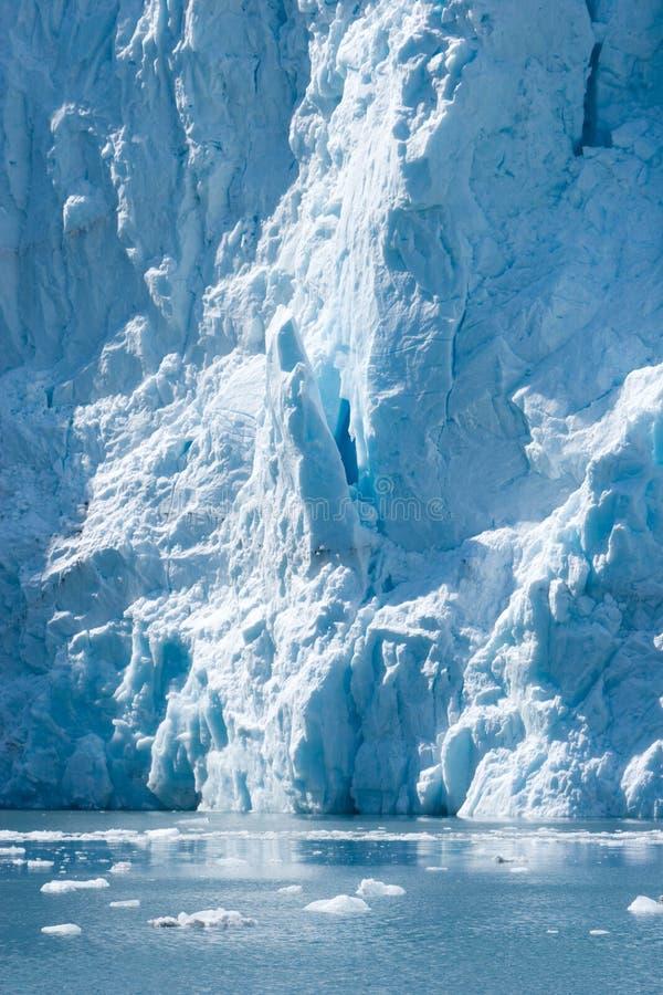 冰川hubbard 免版税库存图片