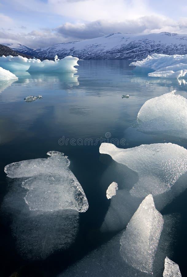 冰川jostedalsbreen挪威 库存图片