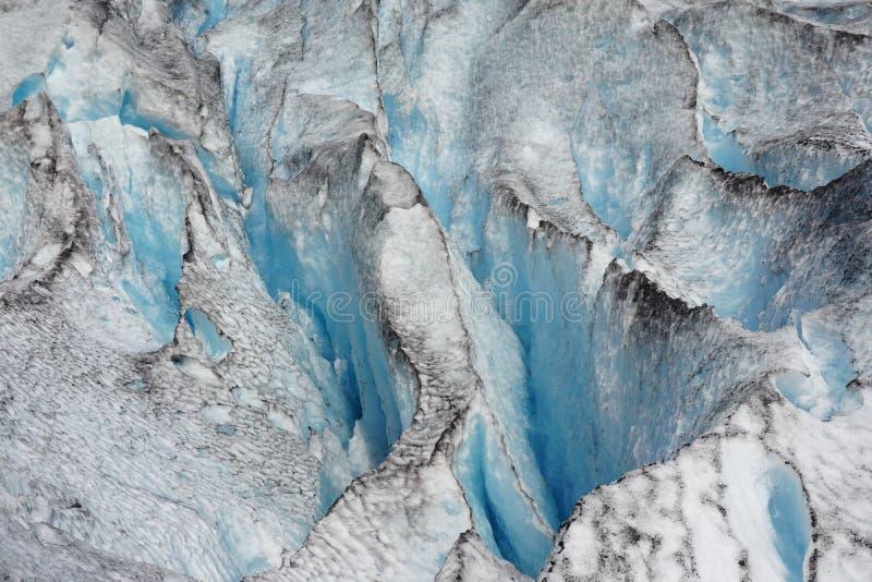 冰川Nigardsbreen 库存照片