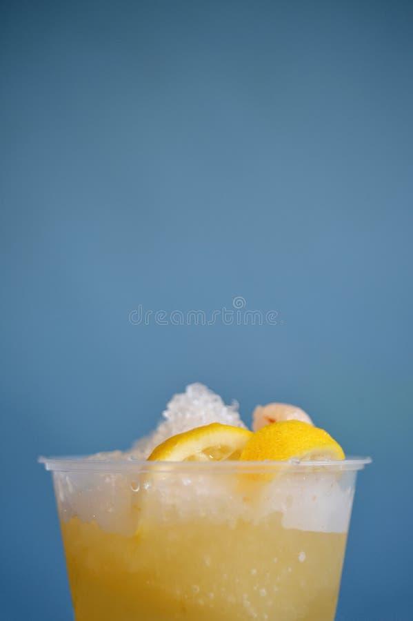 冰柠檬汁 库存照片
