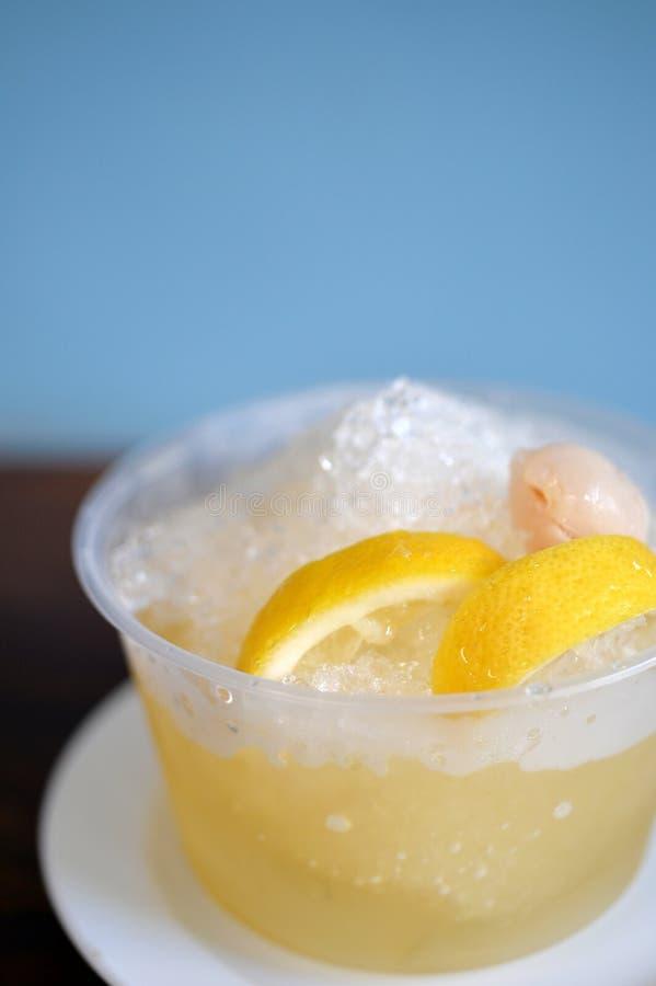 冰柠檬汁 免版税库存图片