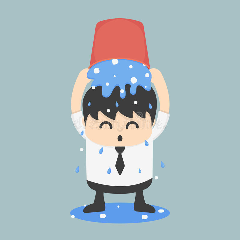 冰桶挑战事务EPS 10 向量例证