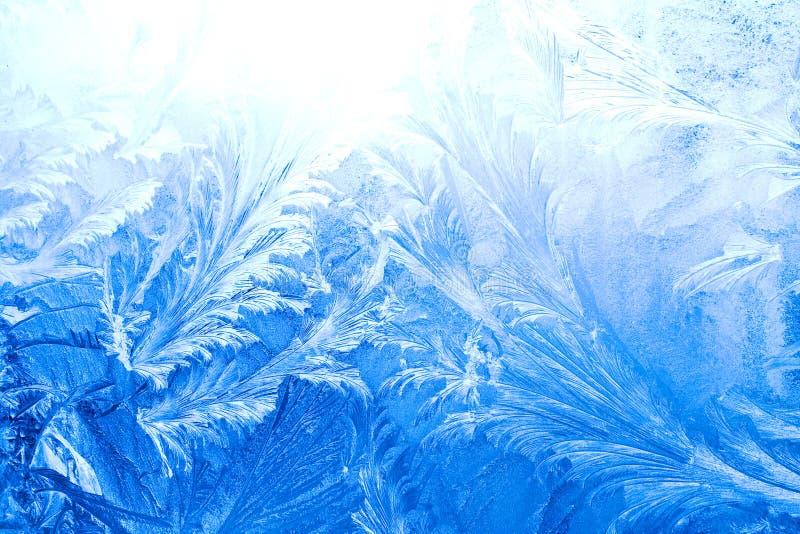 冰模式视窗冬天 免版税库存图片