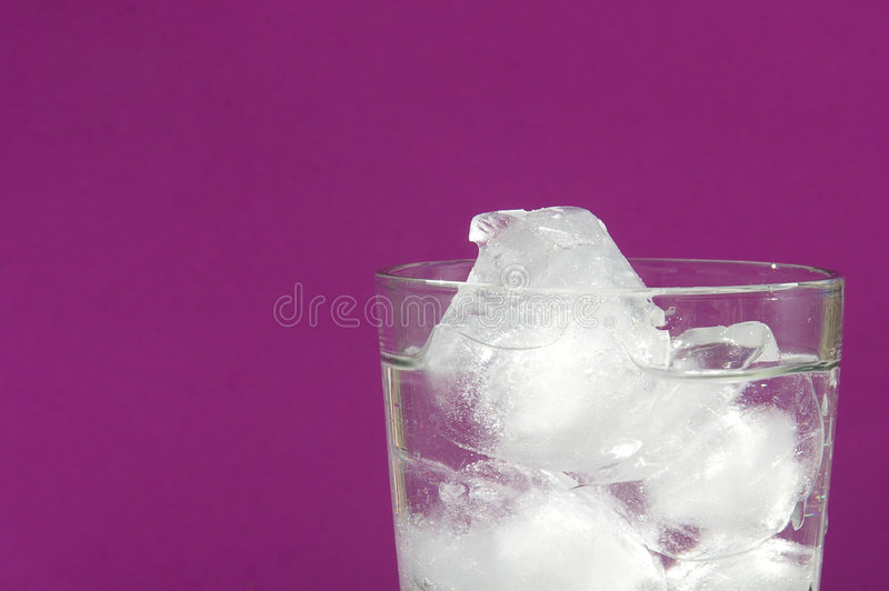 冰水 库存图片