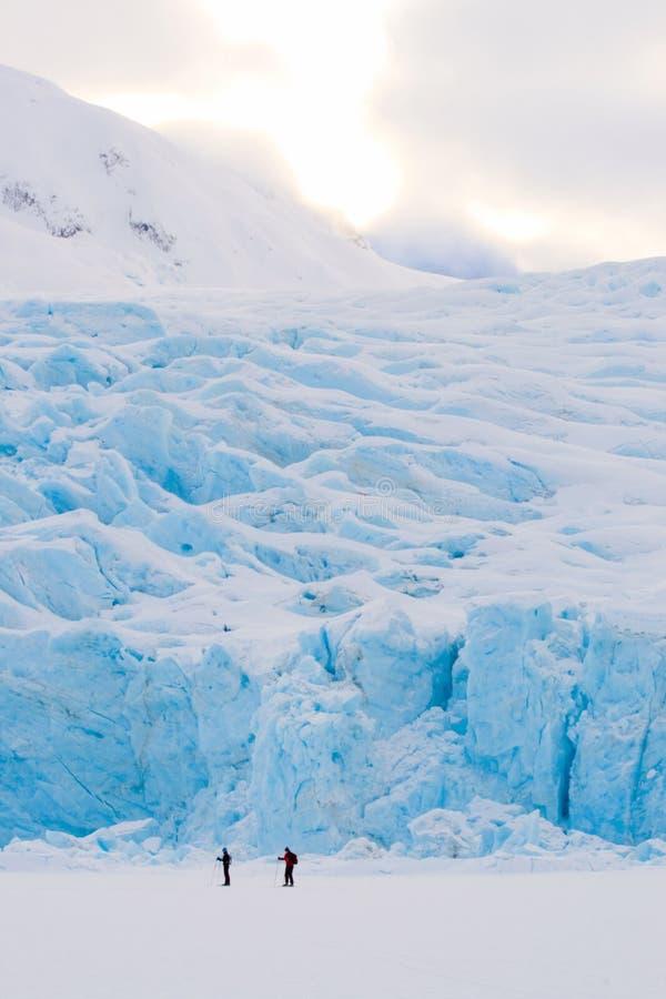 冰河光 免版税图库摄影
