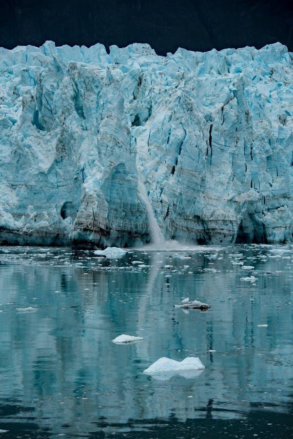 冰河反射 免版税库存图片