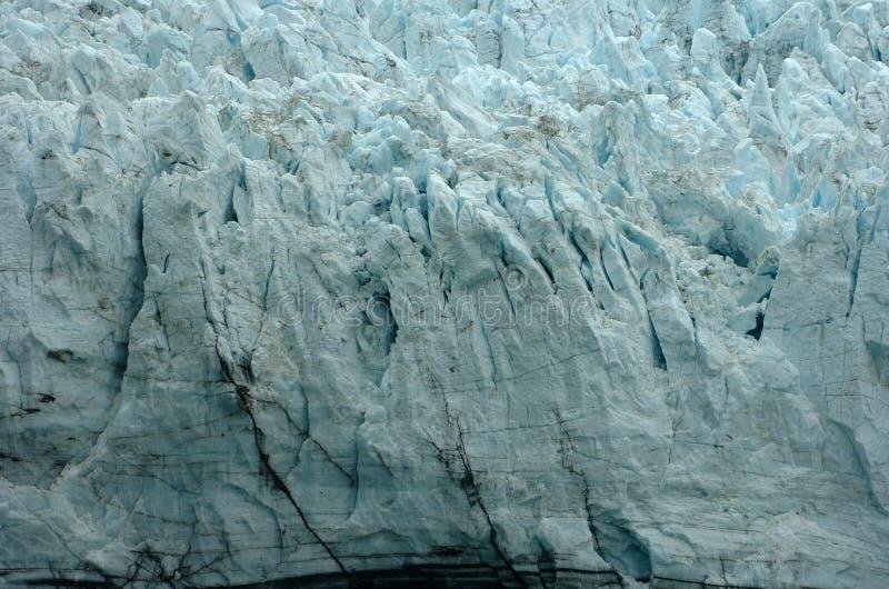 冰河海湾冰山 免版税库存照片