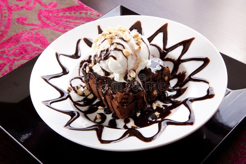 冰淇凌蛋糕 免版税库存图片