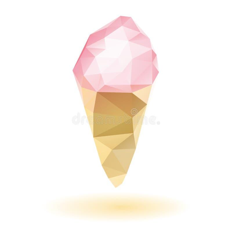 冰淇凌象 皇族释放例证