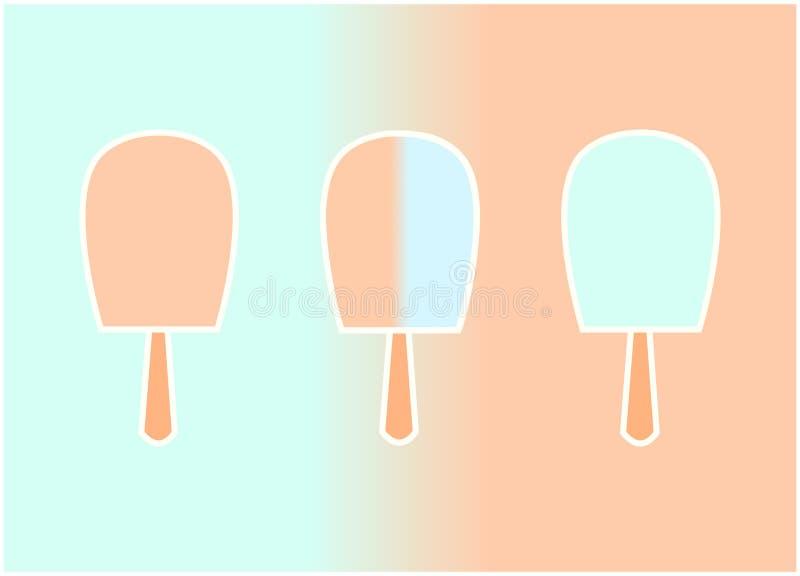 冰淇凌象 免版税图库摄影