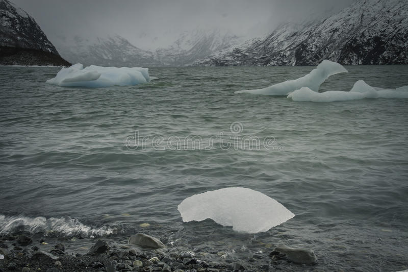 冰湖  库存照片