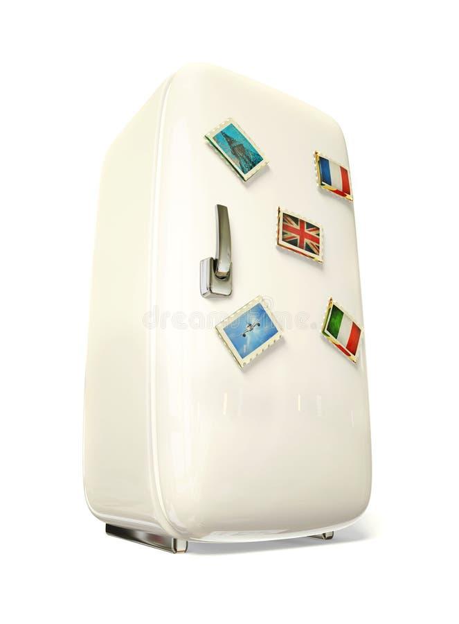 冰箱 向量例证