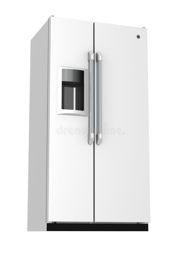 冰箱 库存例证