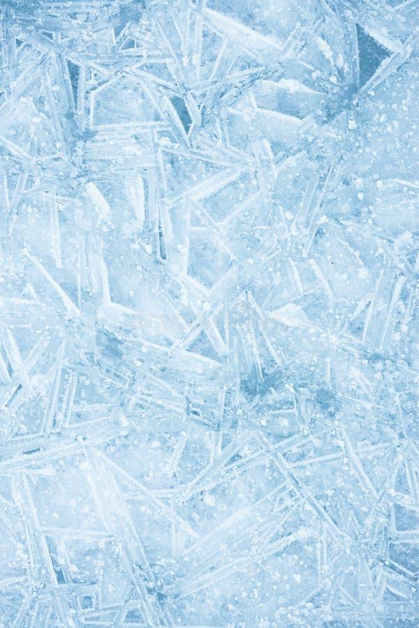 冰纹理 库存图片