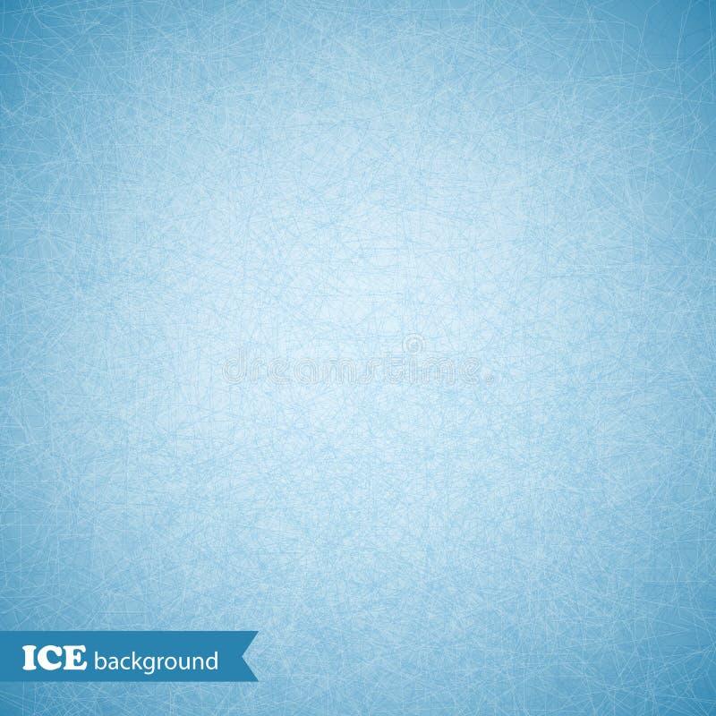 冰被抓的背景,纹理,样式 也corel凹道例证向量 向量例证