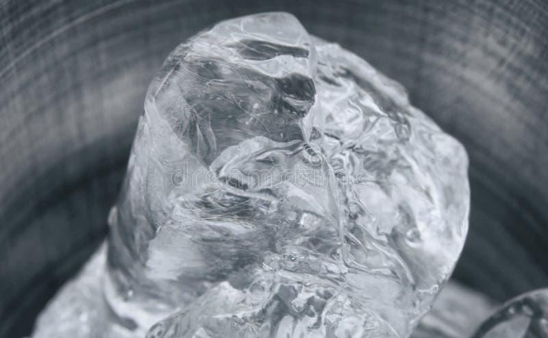 冰部分 免版税库存图片