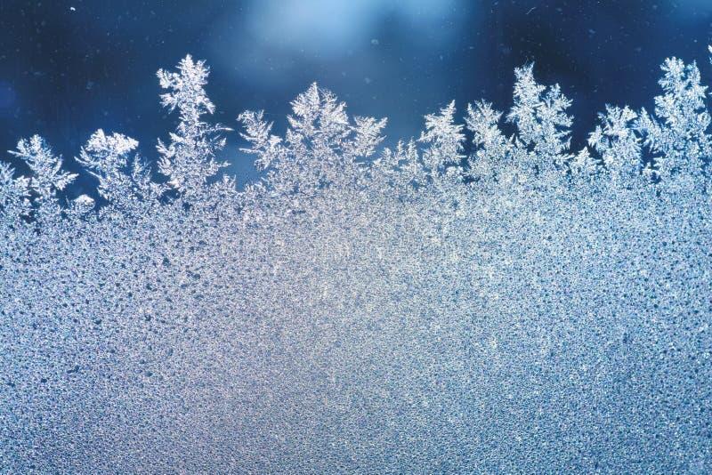 冰霜窗口 免版税图库摄影