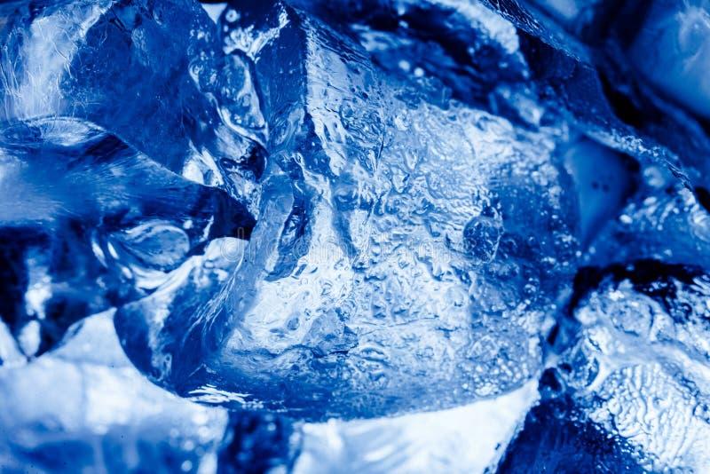 2007冰1月自然鄂毕河西伯利亚纹理 库存图片