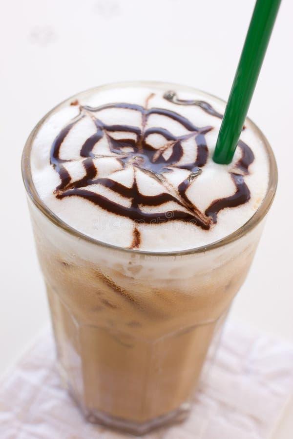 冰mocca咖啡。 库存图片