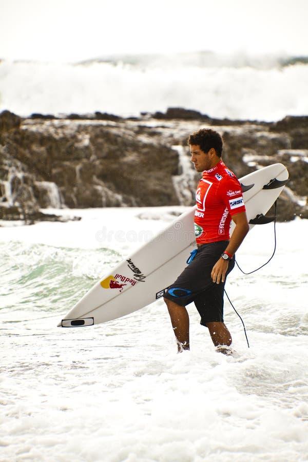 冲浪的竞争 免版税图库摄影