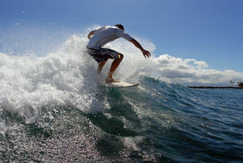 冲浪的顶层 免版税库存图片