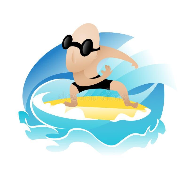Download 冲浪者 向量例证. 插画 包括有 海浪, 以图例解释者, 冲浪者, 颜色, 字符, 向量, 通知, 海运 - 59112897
