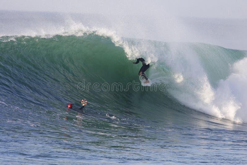 冲浪 免版税库存图片