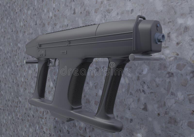 冲锋枪AM-2图片1 库存图片