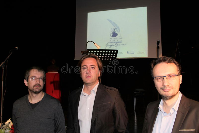 决赛选手30°诗歌Tirinnanzi Legnano意大利 图库摄影