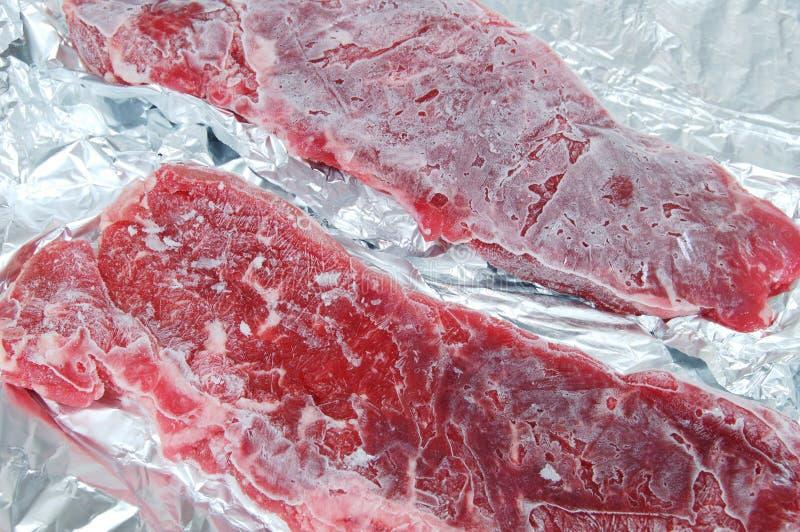 冷冻肉 库存图片