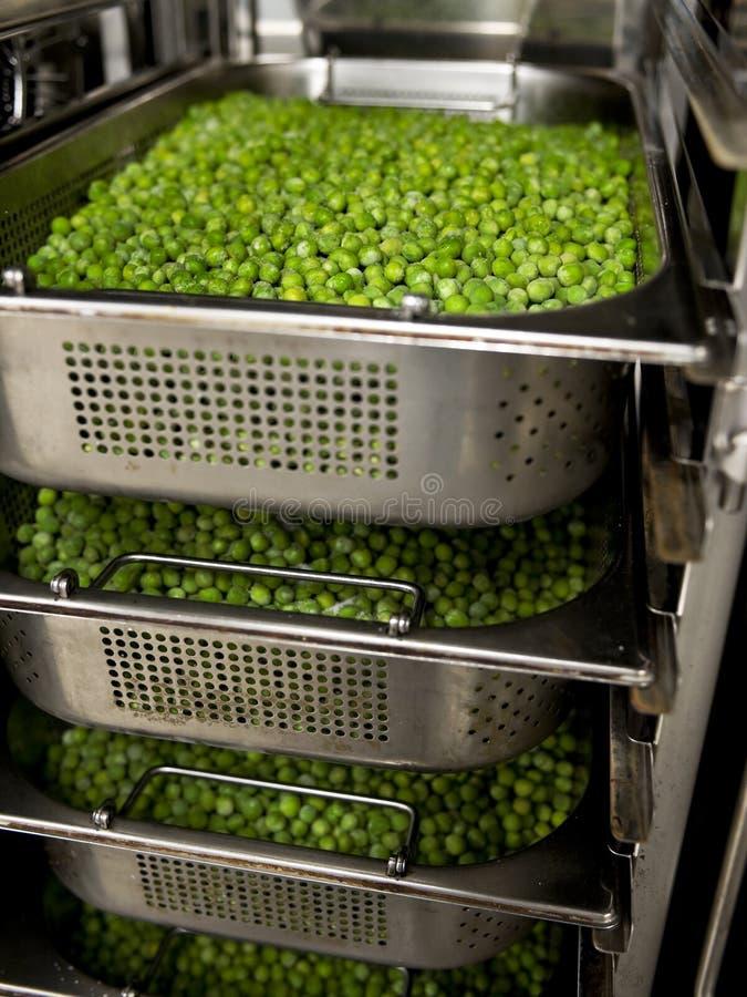 冷冻豌豆 免版税库存图片