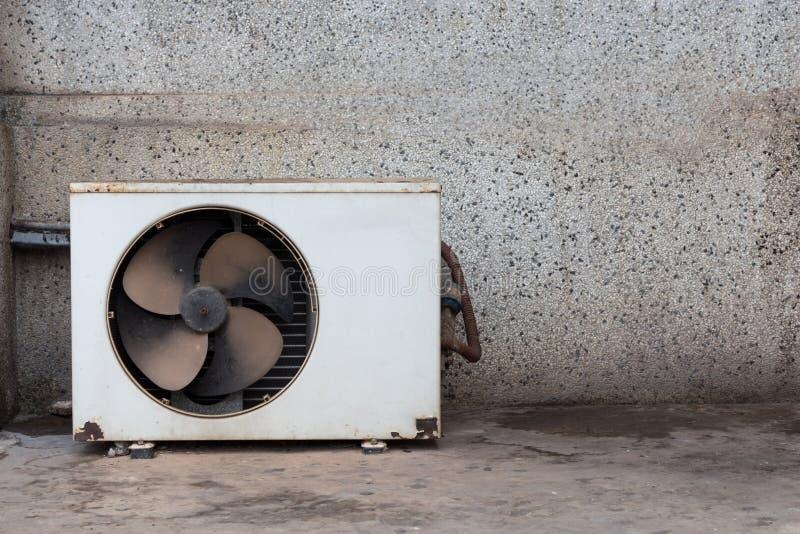 冷凝器老单位空气 免版税库存照片