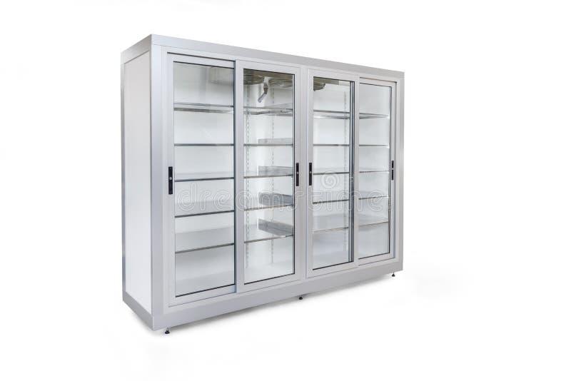 冷却的玻璃容器 库存照片