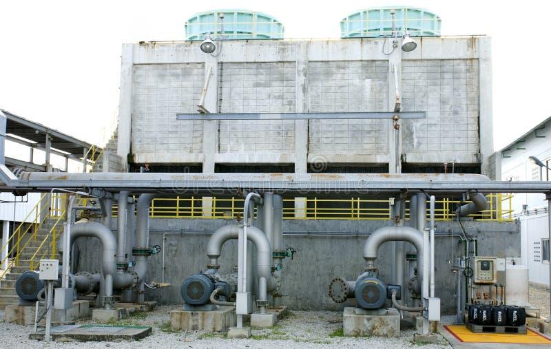 冷却系统塔 免版税库存照片