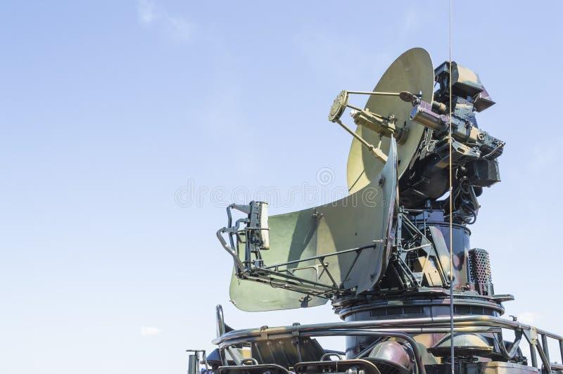 冷战军事雷达 图库摄影