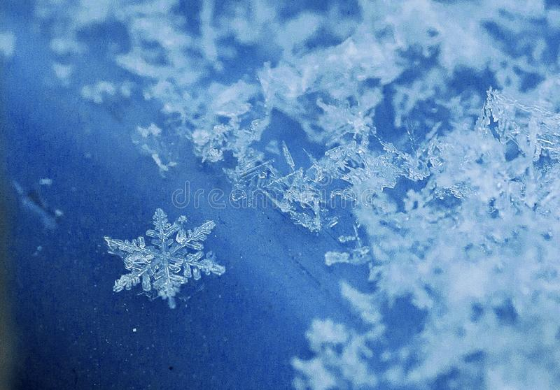 冷淡的样式前夕新年和圣诞节 免版税库存照片
