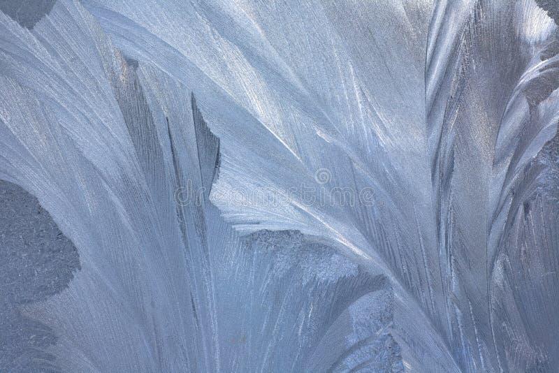 冷淡的自然模式视窗冬天 库存照片