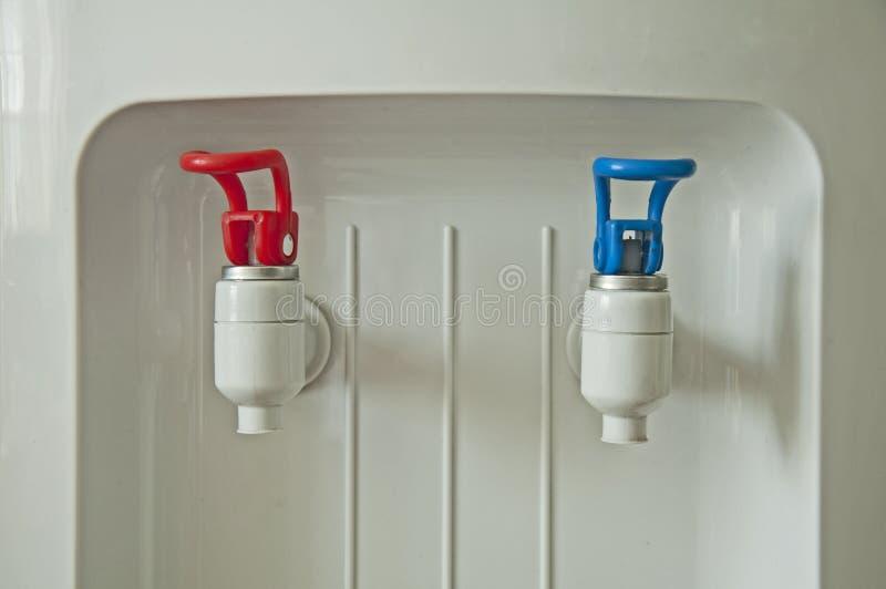 冷热设备水 免版税图库摄影
