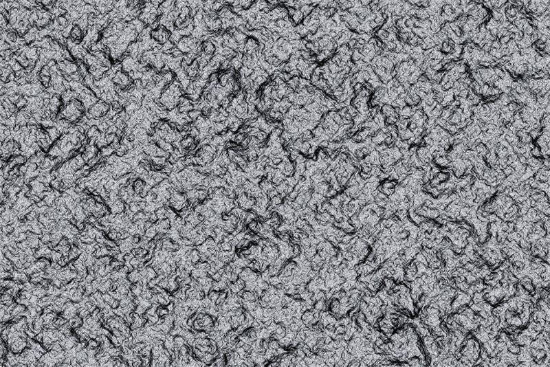 冷熔岩纹理 向量例证