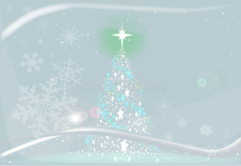冷的冷的圣诞节 皇族释放例证