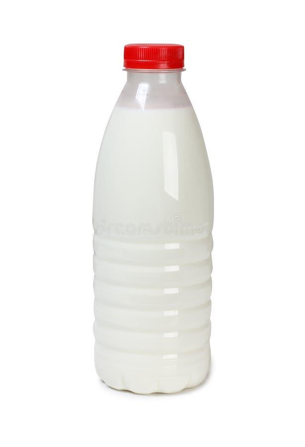 冷的牛奶一 免版税库存照片