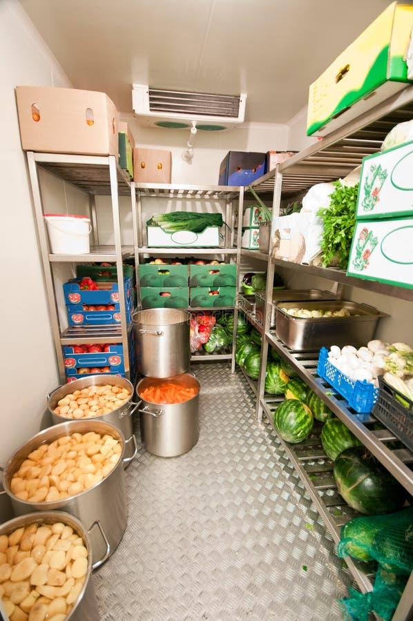 冷静冰箱结构 库存图片