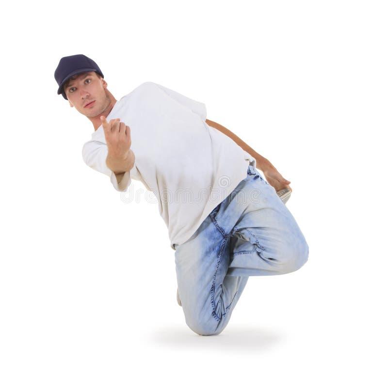 冷静舞蹈演员Hip Hop查找 库存图片