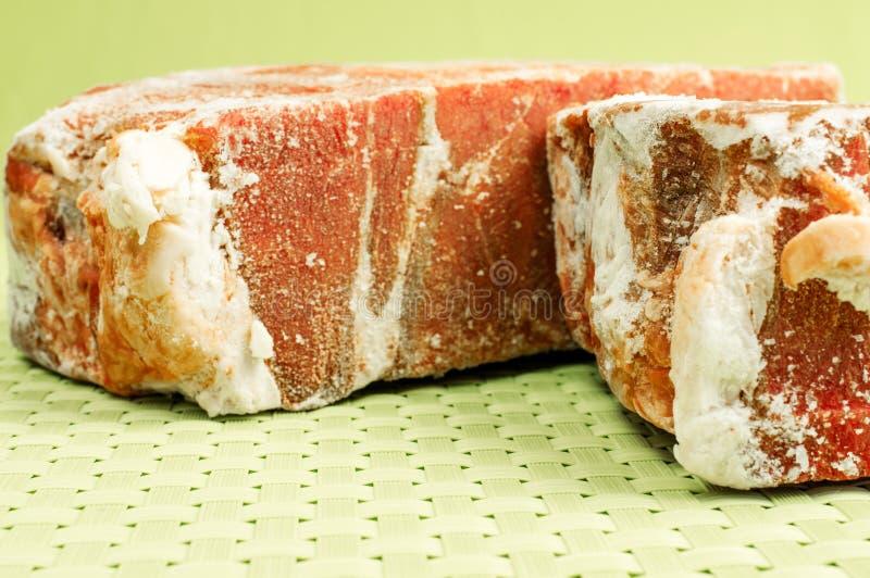 冷冻牛肉 免版税库存照片