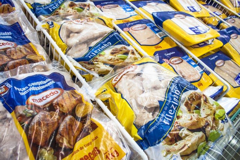 冷冻食品 图库摄影