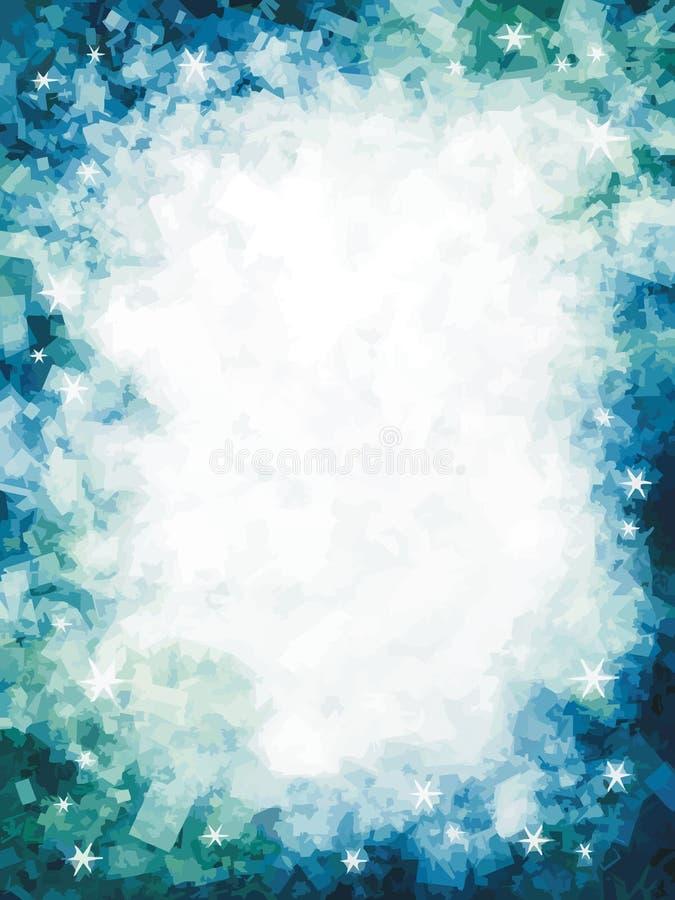 冻结星形 库存例证
