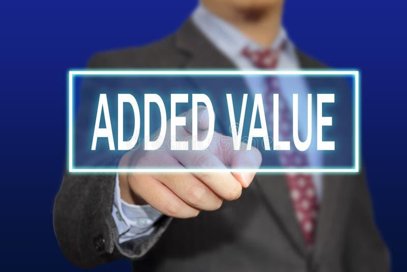净增值概念 免版税库存照片